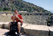<h5>Groetjes uit Turkije</h5><p>Mark Maas in Mira - 2004</p>